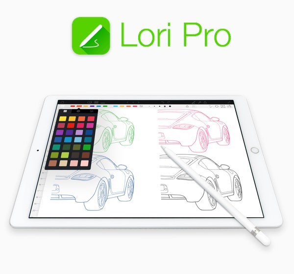 Lori Pro Sketch Draw Create iPhone and iPad