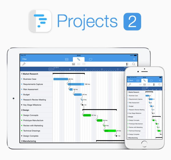 Projects 2 - Project Management for iPhone and iPad